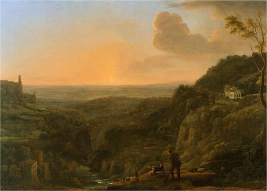 a_view_of_the_roman_campagna_from_tivoli2c_evening_281644-5293b_claude_gellc3a9e2c_called_le_lorrain